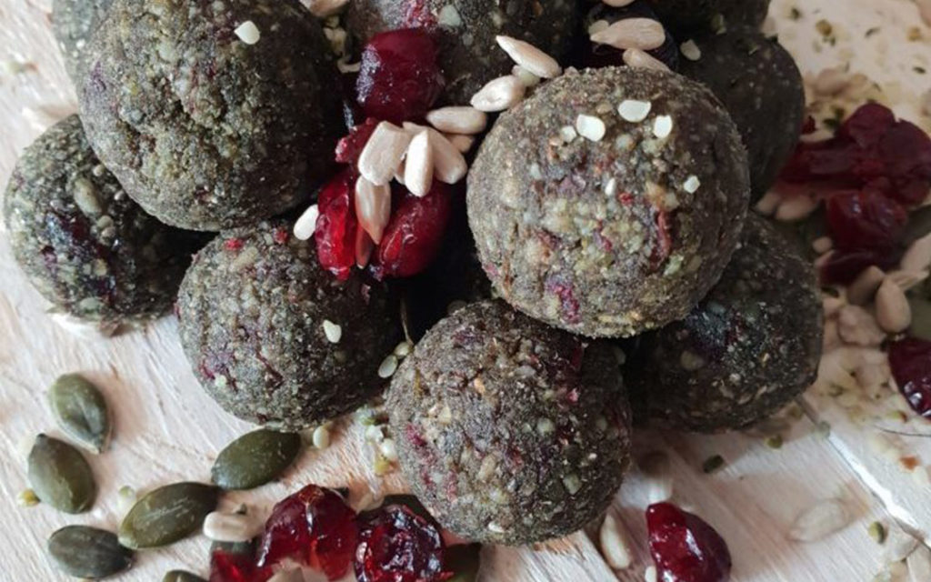 Green Power Protein Balls